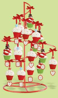 Holiday Sweet Soiree Cupcake Ornament