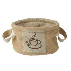Coffee Break Sack Basket