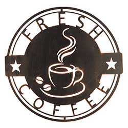 Coffee Break Wall Plaque