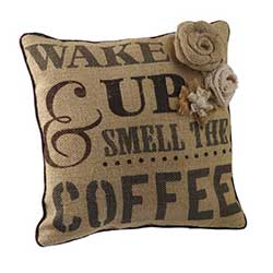 Coffee Break Pillow