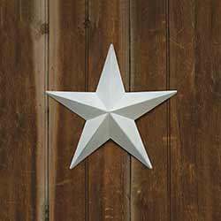 White Barn Star, 12 inch