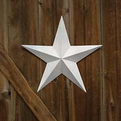 White Barn Star, 18 inch