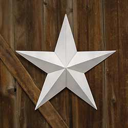 White Barn Star, 24 inch