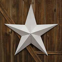White Barn Star, 36 inch