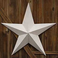 White Barn Star, 48 inch