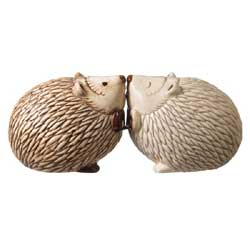 Crimson Hollow Hedgehog Salt and Pepper Shaker Set
