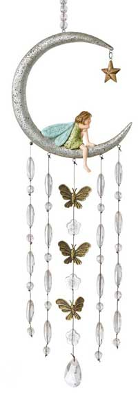 Fairy in Moon Chime