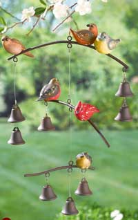 Birds on Branch Mobile