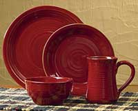 Aspen Dinnerware - FOUR Place Settings (16 piece set)