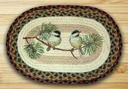 Chickadee Braided Placemat