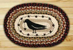 Crow & Star Braided Jute Placemat