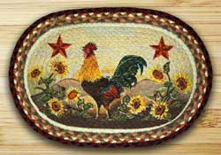 Morning Rooster Braided Placemat