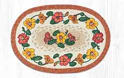 Flower Vine Braided Placemat