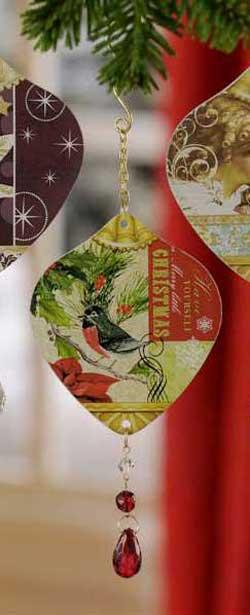 Bella Boutique Bird Ornament