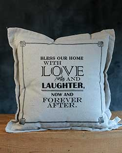 Love & Laughter Pillow