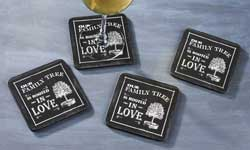 Living Quotes Coaster Set