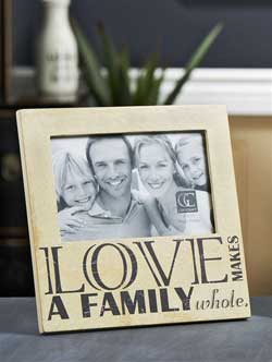 Love Makes a Family Frame