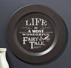 Life is a Fairy Tale Plate