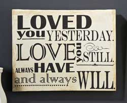 Loved You Still Canvas