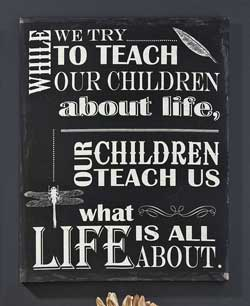 Teach Our Children Canvas