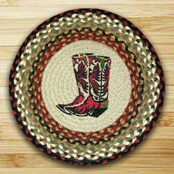 Boots Braided Jute Chair Pad