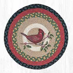 Cardinal Round Braided Chair Pad