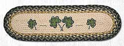 Shamrock Braided Stair Tread