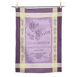 Lavender Soap Tea Towel