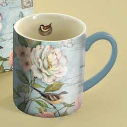 Cottage Bird Boxed Mug