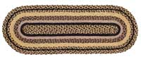 Colfax Jute Stair Tread - Oval