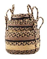 Colfax Jute Baskets (Set of 3)