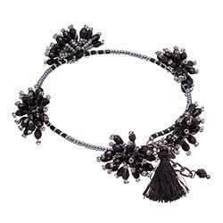 Bead Flower Burst Bracelet