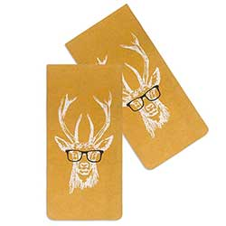 Buck with Spectacles Glasses Case