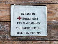 Emergency Mascara Travel Make Up Bag