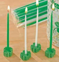 Clover Mini Party Candles (Box of 24)