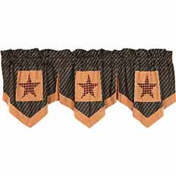 Patriotic Patch Star Valance