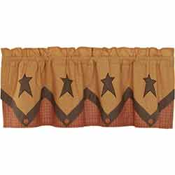 Stratton Primitive Star Layered Valance