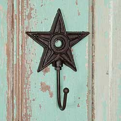 Primitive Star Wall Hook