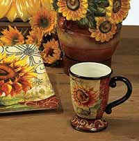 Certified International Tuscan Sunflower Mug