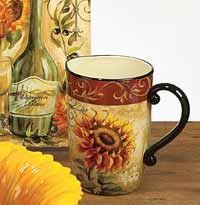 Tuscan Sunflower Pitcher