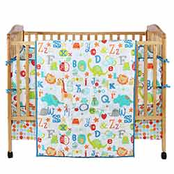 ABC All Over Crib Set