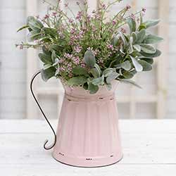 Pink Wide Mouth Pitcher