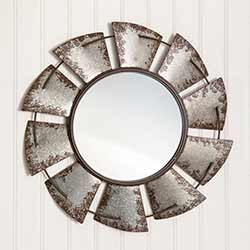 Large Windmill Wall Mirror