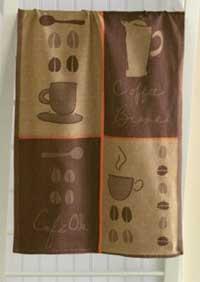 Latte Café Ole Jacquard Dishtowel