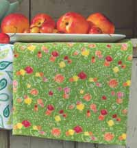 Sweet Summer Dishtowel - Green