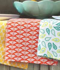 Sweet Summer Dishtowel - Orange