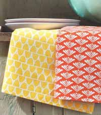 Sweet Summer Dishtowel - Yellow