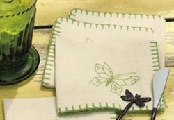 Butterfly Cocktail Napkin
