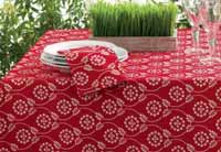 Floral Bandana Tablecloth