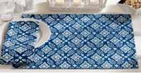 Bandana Placemat - Blue